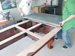 Pool table moves in Tacoma Washington