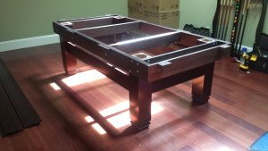 Pool and billiard table set ups and installations in Tacoma Washington