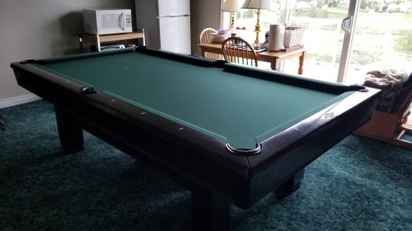 Pool Table Brunswick Hawthorn Cherry