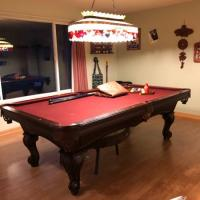 Pool Table with Extras