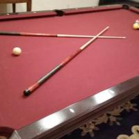 4 1/2 by 9 Brunswick Pool Table