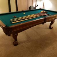 8' Brunswick 'Contender' Pool Table