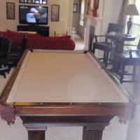 Golden West Billiards Bellingham 4x8 Foot Pool Table with Accessories