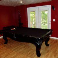 Pool Table - 9' Black