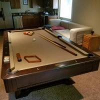 8' Pool Table Modern Design