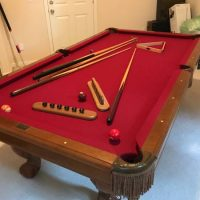 Brunswick Pool Table