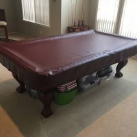 8' Thomas Aaron Pool Table Excellent Condition