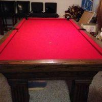 Custom Full Size Pool Table