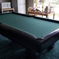 Pool Table Brunswick Hawthorn Cherry