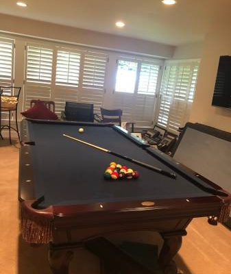"Olhausen 8"" Pool Table for sale (SOLD)"