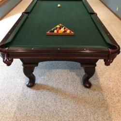 Olhausen 8' Americana II Pool Table